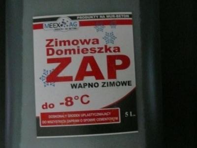 ZAP ZIMOWY -8°C płyn